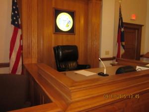 Judges chair